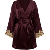 La Perla short silk satin robe - Cardigan -