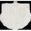 La Regale Shell Beaded Clutch - Clutch bags -