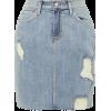 L'agence distressed denim skirt - Skirts - $235.00