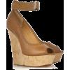 Lanvin Wedge Sandals - Cunhas -