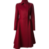 Lanvin flared burgundy coat - Chaquetas -