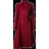 Lanvin flared burgundy coat - Jacket - coats -