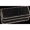 Lauren Merkin Allie Piping Clutch Black - Torbe s kopčom - $250.00  ~ 214.72€