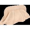 Lauren Merkin Lucy Calfskin Clutch Beige - Clutch bags - $295.00