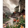 Lauterbrunnen Valley in Switzerland - Buildings -