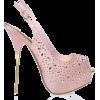 Lavender Gold Heel - Sapatos clássicos -