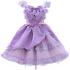 Lavender Lolita Dress - Dresses -