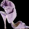 Lavender Wrap Heel - Классическая обувь -