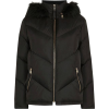 Lavenia Quilted Jacket With Faux Fur Hoo - Jacket - coats - 99.00€  ~ £87.60