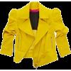 Leather jacket - Jacket - coats -