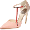 Leather Asymmetrical T-Strap Pump - Classic shoes & Pumps -