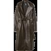 Leather Coat - Chaquetas -