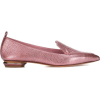 Leather Loafers - Loafers -