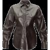Leather Shirt - Koszule - długie -