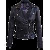 Leather Skin Women Black Brando Genuine - Jacket - coats - $189.99