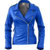 Leather Skin Women Blue Brando Genuine L - Jacket - coats - 189.99€  ~ $221.21
