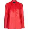 Leather Shirt - AMARO - Camicie (lunghe) -