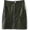 Leather Skirt - Spudnice -