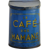 Le café des mamans biscuit tin - Furniture -