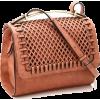 Leisure Diamond Lattice Hallowed-out Lad - Hand bag -