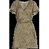 Lenna Leopard Print Dress - sukienki -
