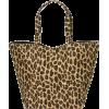 Leopard Print Beach Bag - Bag -