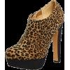 Leopard print - Buty wysokie -