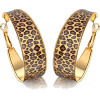 Leopard Print Earrings - Earrings -