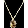 Leopard Print Necklace - Necklaces -