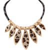 Leopard-Print Pendants Necklace - Ogrlice -