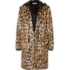 Leopard faux fur coat - Jacket - coats -
