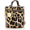 Leopard print cylinder cross body bag - Borsette -