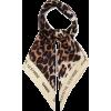 Leopard-print silk scarf | Ganni | - Šalovi -