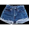 Levi's Denim Shorts - Hose - kurz -