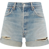 Levi's 90s distressed denim shorts £220 - Shorts -