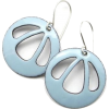 Light Blue Earrings - 插图 -