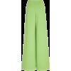 Light Green Wide Leg Pants - Other -