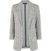 Light Grey Check Jersey Blazer - Jacket - coats - 14.00€  ~ $16.30