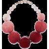 Light resin necklace - Ogrlice -