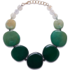 Light resin necklace - Necklaces -