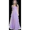 Lilac Ballroom Dress - Haljine -