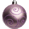 Lilac Christmas bauble - Items -