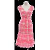 Lilly Pulitzer Island Coral Cotton Silk Printed Skyla Dress - Obleke - $134.99  ~ 115.94€