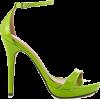 Lime Heels - Sandals -
