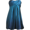 satin ombre bubble dress - Dresses -