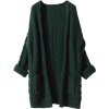 Liny Xin Women's Cashmere Loose Casual L - Cardigan -
