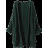 Liny Xin Women's Cashmere Loose Casual L - Cárdigan -