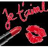 Lipstick - 插图用文字 -