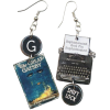 Literary gifts company earrings - イヤリング -