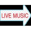 Live music neon sign - Testi -